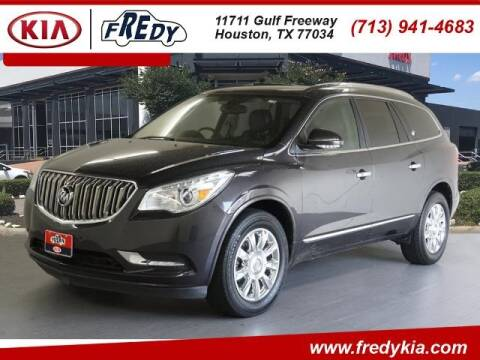 2015 Buick Enclave for sale at FREDY KIA USED CARS in Houston TX