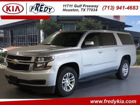 2019 Chevrolet Suburban for sale at FREDY KIA USED CARS in Houston TX