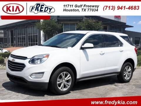 2017 Chevrolet Equinox for sale at FREDY KIA USED CARS in Houston TX