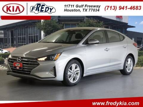 2020 Hyundai Elantra for sale at FREDY KIA USED CARS in Houston TX