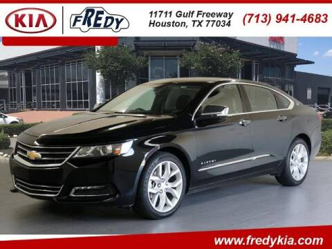 2020 Chevrolet Impala for sale at FREDY KIA USED CARS in Houston TX