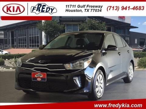 2020 Kia Rio for sale at FREDY KIA USED CARS in Houston TX