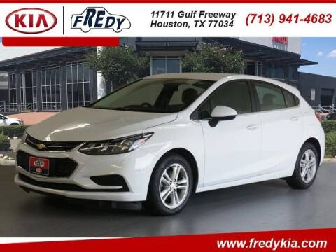 2017 Chevrolet Cruze for sale at FREDY KIA USED CARS in Houston TX
