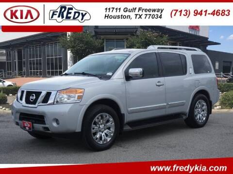 2015 Nissan Armada for sale at FREDY KIA USED CARS in Houston TX
