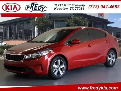 2018 Kia Forte for sale at FREDY KIA USED CARS in Houston TX