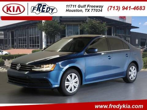 2017 Volkswagen Jetta for sale at FREDY KIA USED CARS in Houston TX