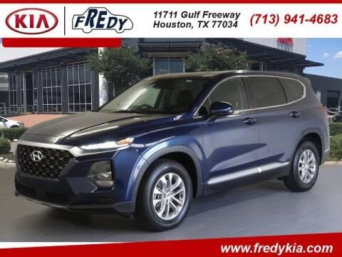 2020 Hyundai Santa Fe for sale at FREDY KIA USED CARS in Houston TX
