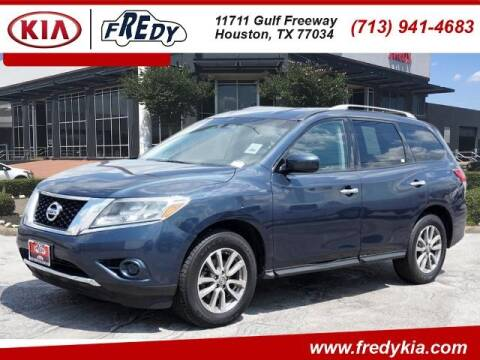 2014 Nissan Pathfinder for sale at FREDY KIA USED CARS in Houston TX