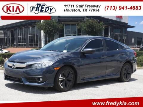 2016 Honda Civic for sale at FREDY KIA USED CARS in Houston TX