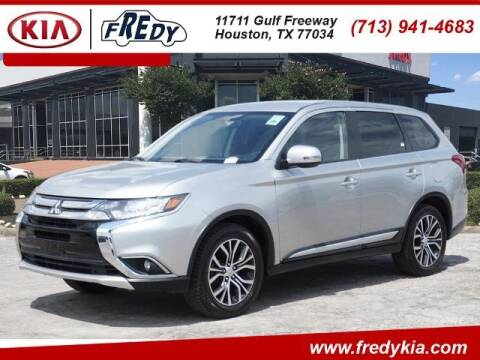 2018 Mitsubishi Outlander for sale at FREDY KIA USED CARS in Houston TX
