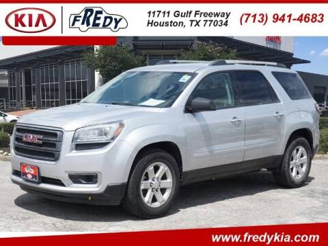 2015 GMC Acadia for sale at FREDY KIA USED CARS in Houston TX