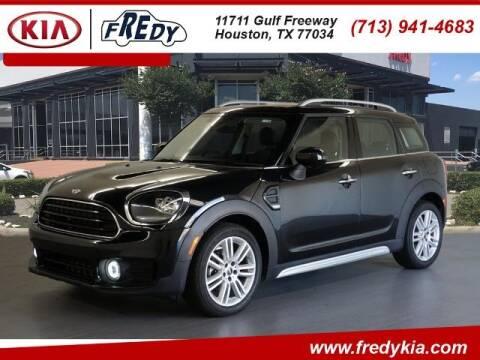 2020 MINI Countryman for sale at FREDY KIA USED CARS in Houston TX