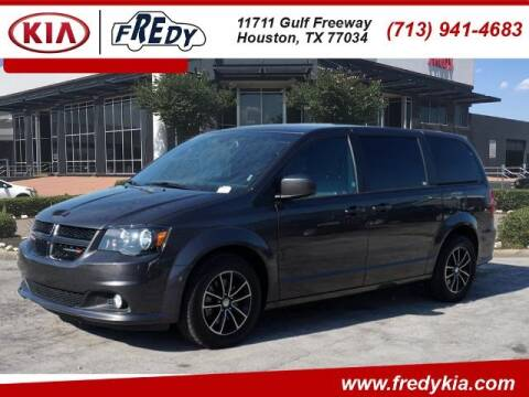 2019 Dodge Grand Caravan for sale at FREDY KIA USED CARS in Houston TX