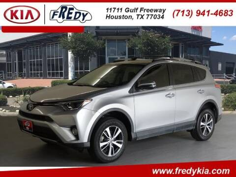 2017 Toyota RAV4 for sale at FREDY KIA USED CARS in Houston TX
