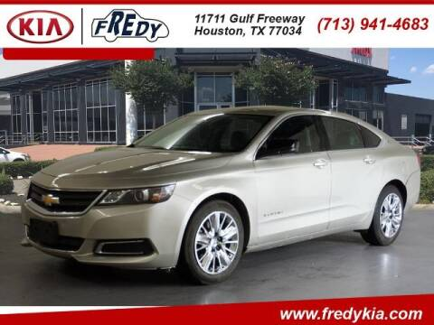 2015 Chevrolet Impala for sale at FREDY KIA USED CARS in Houston TX