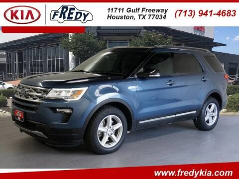 2018 Ford Explorer for sale at FREDY KIA USED CARS in Houston TX