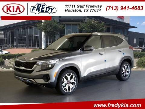 2021 Kia Seltos for sale at FREDY KIA USED CARS in Houston TX