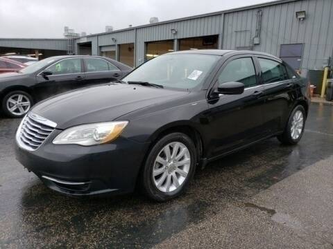 2014 Chrysler 200 for sale at FREDY KIA USED CARS in Houston TX