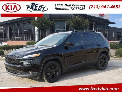 2018 Jeep Cherokee for sale at FREDY KIA USED CARS in Houston TX