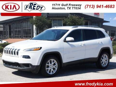 2015 Jeep Cherokee for sale at FREDY KIA USED CARS in Houston TX