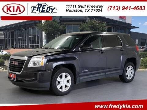 2016 GMC Terrain for sale at FREDY KIA USED CARS in Houston TX