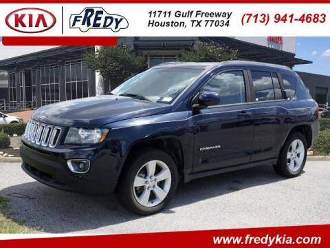 2015 Jeep Compass for sale at FREDY KIA USED CARS in Houston TX