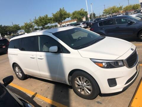 2017 Kia Sedona for sale at FREDY KIA USED CARS in Houston TX