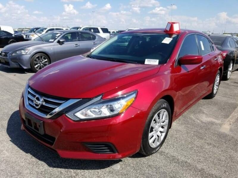 2017 Nissan Altima for sale at FREDY KIA USED CARS in Houston TX