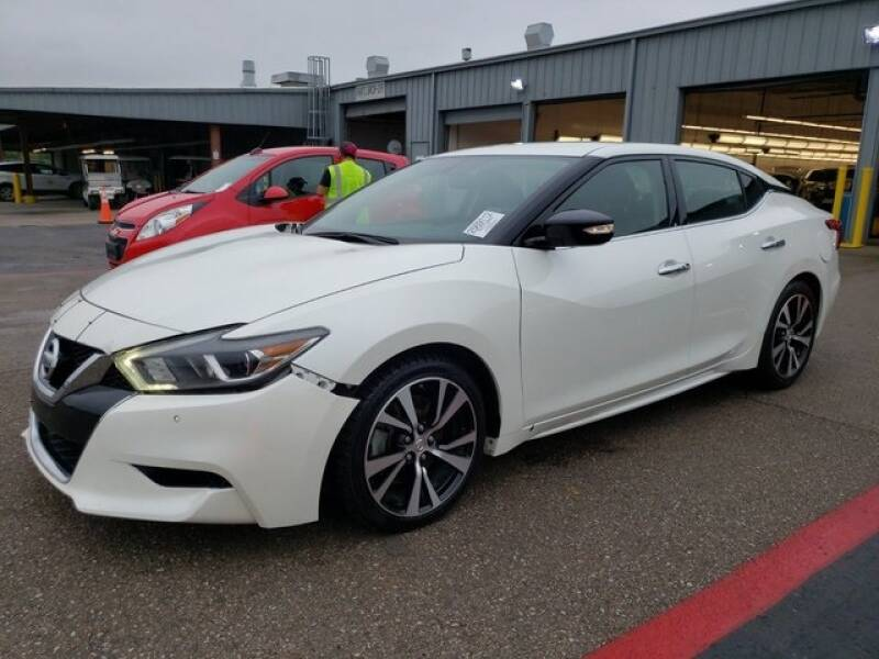 2018 Nissan Maxima for sale at FREDY KIA USED CARS in Houston TX