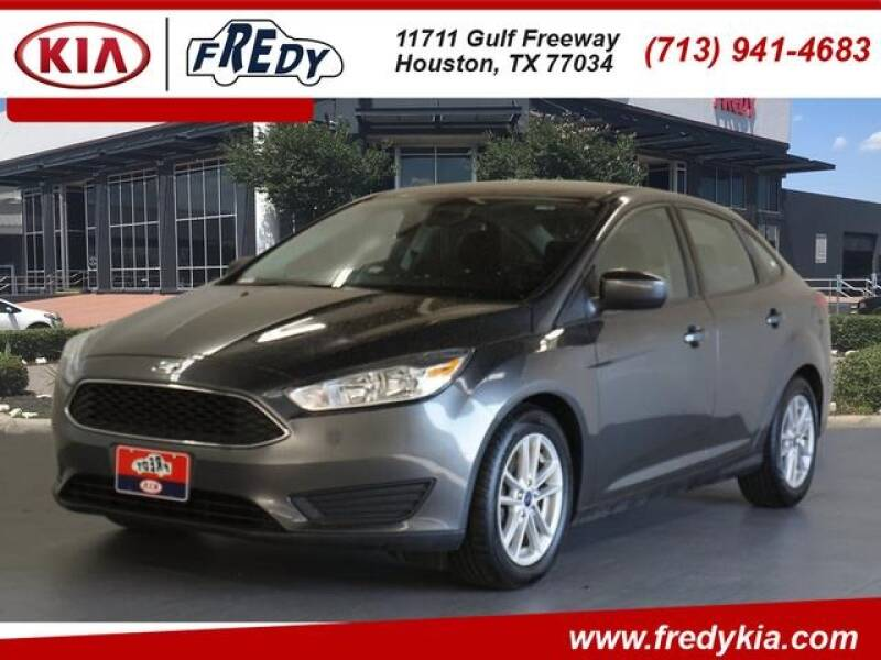 2018 Ford Focus for sale at FREDY KIA USED CARS in Houston TX