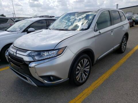 2019 Mitsubishi Outlander for sale at FREDY KIA USED CARS in Houston TX
