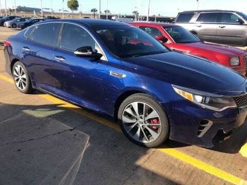 2016 Kia Optima for sale at FREDY KIA USED CARS in Houston TX