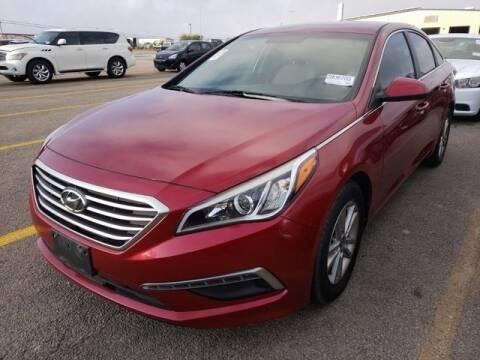 2015 Hyundai Sonata for sale at FREDY KIA USED CARS in Houston TX