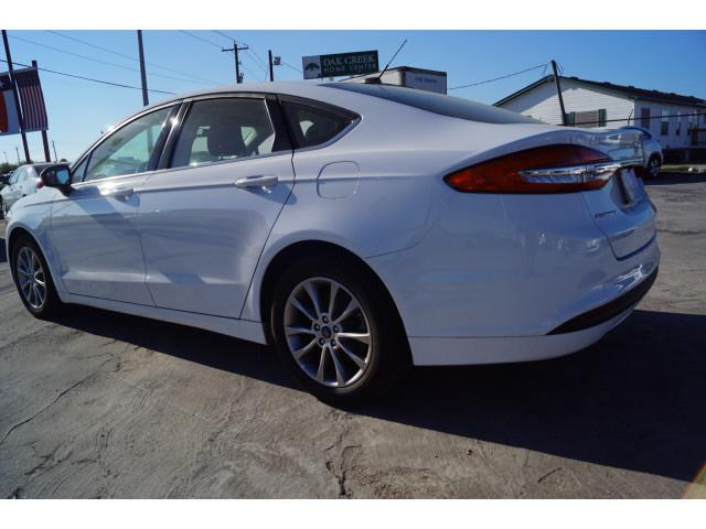 2017 Ford Fusion for sale at FREDY KIA USED CARS in Houston TX