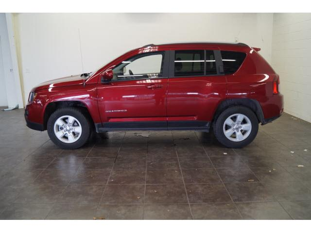 2017 Jeep Compass for sale at FREDY KIA USED CARS in Houston TX