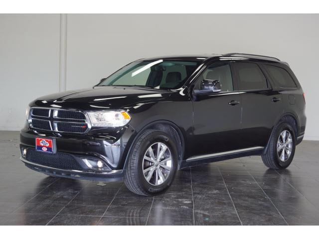 2016 Dodge Durango for sale at FREDY KIA USED CARS in Houston TX