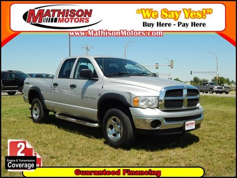 2004 Dodge Ram Pickup 1500 for sale in Clearwater, MN