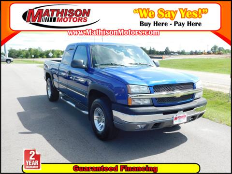2004 Chevrolet Silverado 1500 for sale in Clearwater, MN