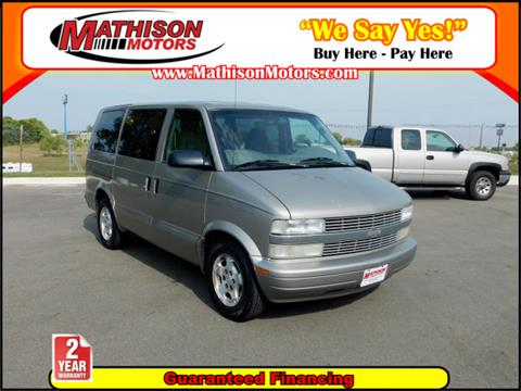 2004 Chevrolet Astro for sale in Clearwater, MN