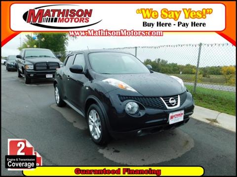 2014 Nissan JUKE for sale in Clearwater, MN