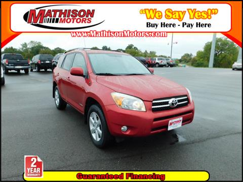 2008 Toyota RAV4 for sale in Clearwater, MN