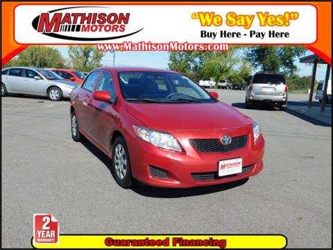 2009 Toyota Corolla for sale in Clearwater, MN