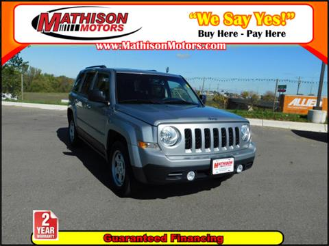 2016 Jeep Patriot for sale in Clearwater, MN