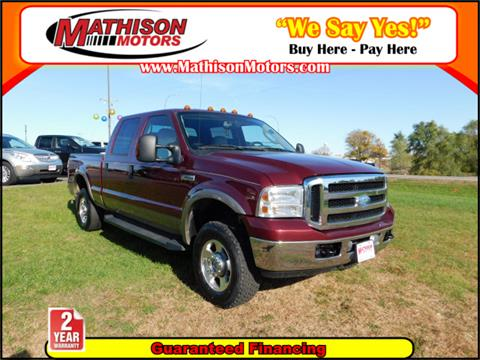 2006 Ford F-250 Super Duty for sale in Clearwater, MN