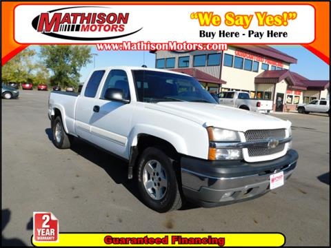 2005 Chevrolet Silverado 1500 for sale in Clearwater, MN