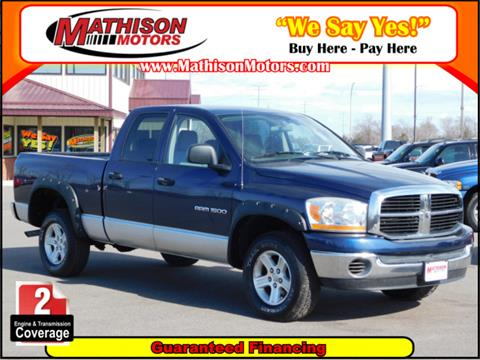 2006 Dodge Ram Pickup 1500 for sale in Clearwater, MN
