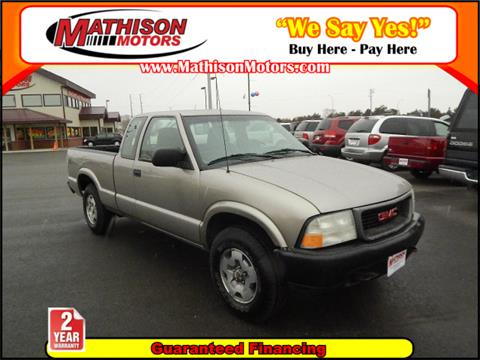 2002 GMC Sonoma for sale in Clearwater, MN