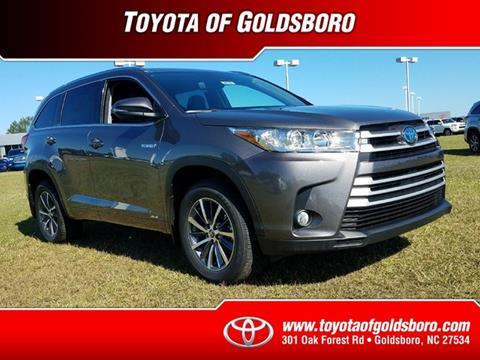 2017 Toyota Highlander Hybrid for sale in Goldsboro, NC