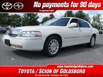 2007 Lincoln Town Car for sale in Goldsboro, NC
