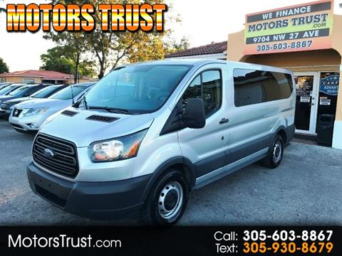 0b8005bcf1 2015 Ford Transit Passenger for sale in Miami